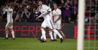 Sergio Ramos iguala El Clásico 'a lo Champions'