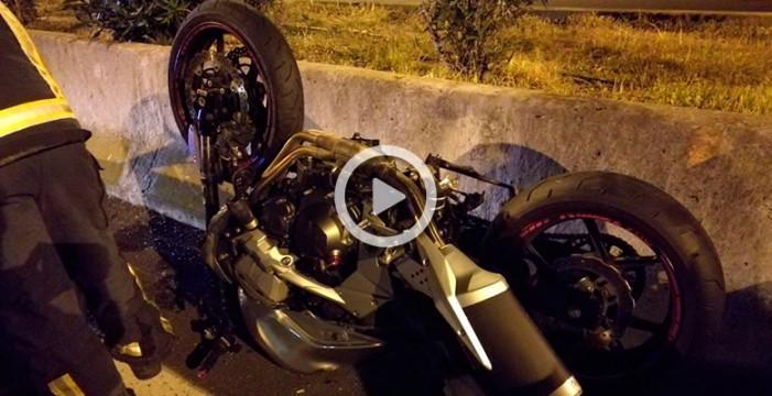Un motorista muere tras una colisión con un turismo en la TF-5