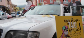 'Camellos taxi' desplazarán gratuitamente a los clientes entre las cinco zonas comerciales de Los Realejos
