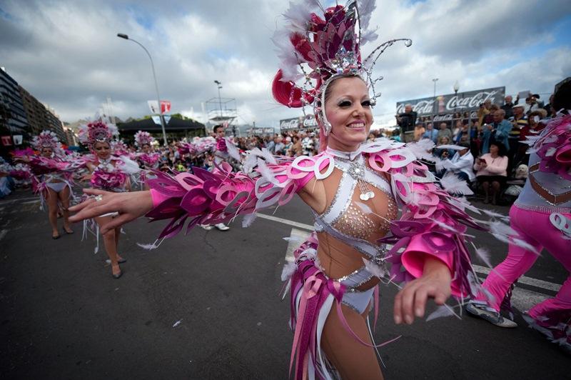 Santa Cruz defiende que su Carnaval tiene suficiente entidad para merecer el título de la Unesco en solitario. Fran Pallero