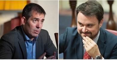 El acuerdo secreto que maduran Fernando Clavijo y Asier Antona