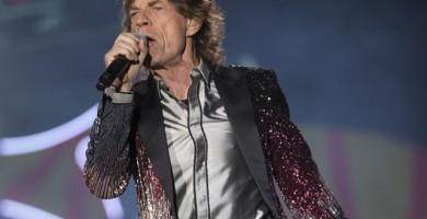 Mick Jagger es padre por octava vez a los 73 años