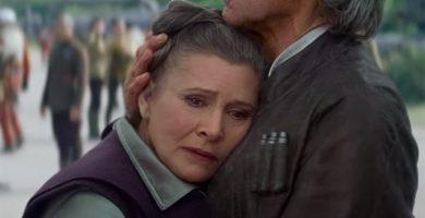 Fallece la actriz Carrie Fisher, la princesa Leia de 'Star Wars'