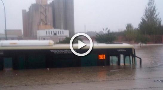 Fallece en Estepona una mujer ahogada a consecuencia de las inundaciones