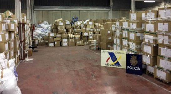 71 detenidos en la mayor operación en España contra los productos falsificados