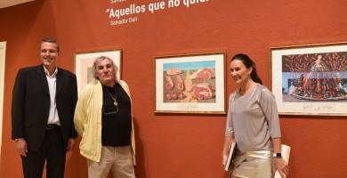 Mr. Rebmann, el coleccionista alemán de los 200 cuadros de Salvador Dalí