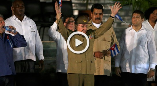 """Raúl Castro: """"Fidel demostró que se puede superar cualquier obstáculo para garantizar la independencia"""""""