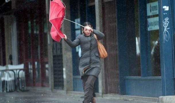 Alerta en La Palma y Tenerife por fuertes vientos desde esta noche