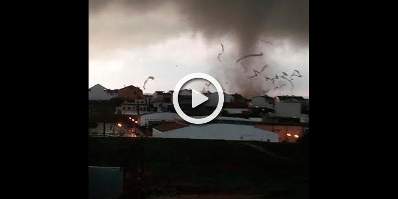 Incre ble tornado en espa a - Tornados en espana ...
