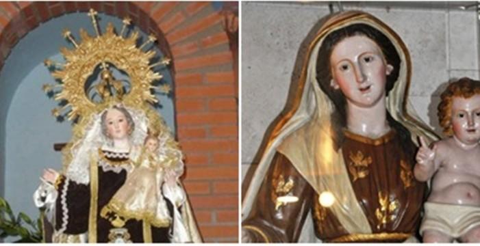 Roban la corona dorada de la Virgen del Carmen