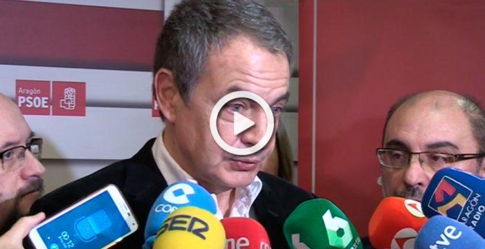 """Zapatero cree que el congreso del PSOE llevará al partido a recuperar la mayoría """"social, política y electoral"""""""