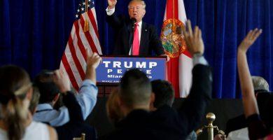Trump afirma que los republicanos harán un favor a los demócratas derogando el Obamacare