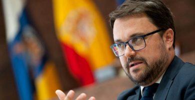 """Asier Antona: """"Apoyaremos la censura a Clavijo si el Gobierno lo preside el PP"""""""