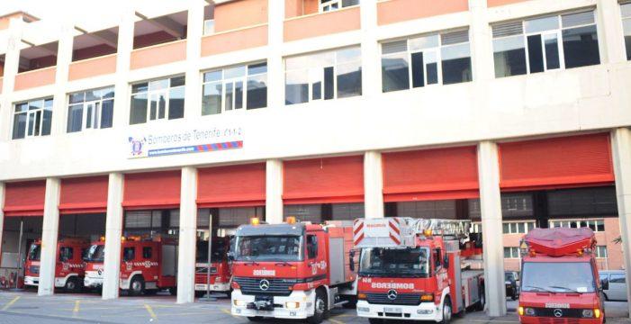 Los bomberos rescatan a una persona encerrada en su vivienda