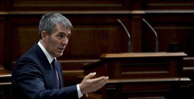 Clavijo no teme una moción de censura