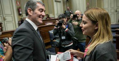 Clavijo acepta la propuesta de Podemos para crear una Oficina Antifraude