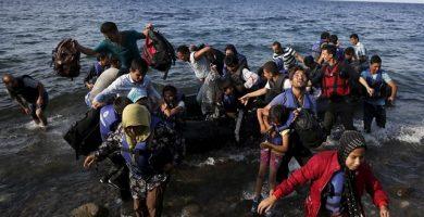 Inmigrantes y refugiados Mediterráneo