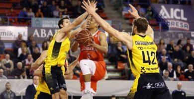 El Iberostar Tenerife cimenta su victoria en una gran primera mitad (74-79)