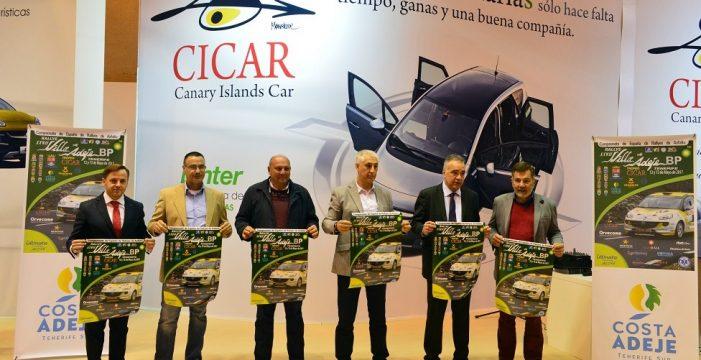 El Rally Villa de Adeje BP Tenerife Trofeo Cicar se viste de largo