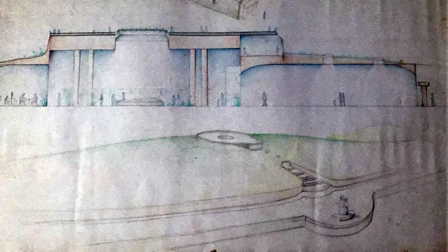 Proyecto del Mirador de La Concepción. | DA