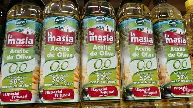 Aceite de oliva 0,0 de La Masía | FOTO: Pinterest