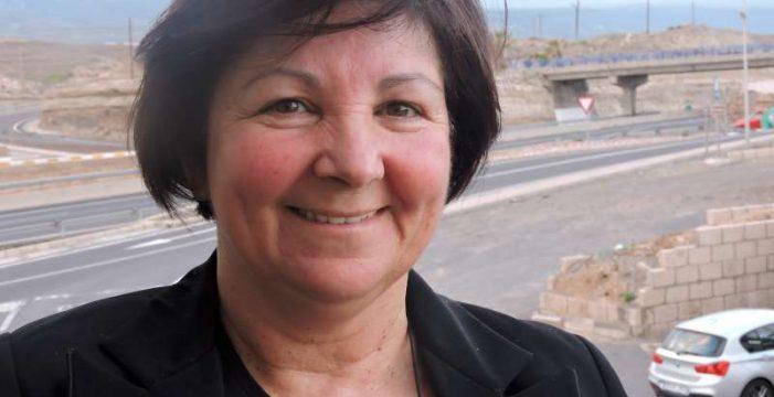 """Agustina Beltrán: """"La carencia de agua en Vilaflor se debe a la sequía y a alguna avería, no a ninguna ineficacia"""""""