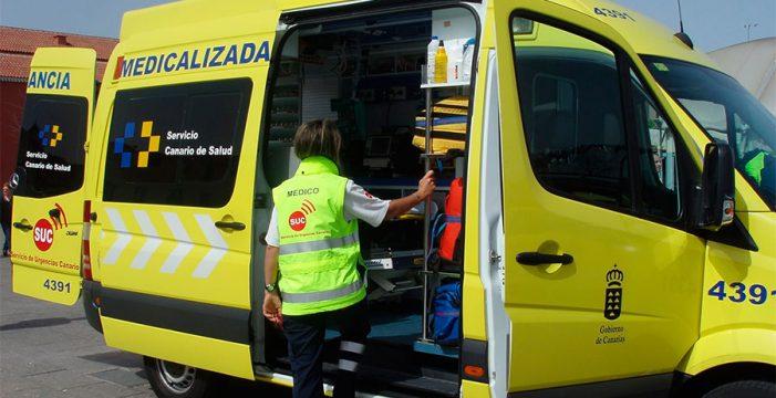 Herida una mujer tras ser atropellada en La Laguna