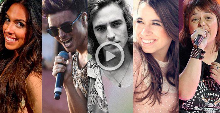 Estos son los 5 candidatos de TVE para ir a Eurovisión