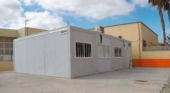 Educación busca suelo en el Sur para sustituir el 'barracón' del Guargacho