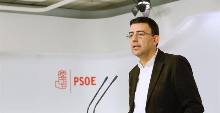 """PSOE anuncia que hará frente al """"inmovilismo"""" del PP y al """"populismo destructivo"""" de Podemos"""