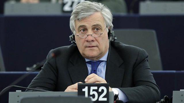 El excomisario italiano Antonio Tajani, nuevo presidente de la Eurocámara