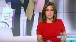 Una presentadora se equivoca en pleno directo y lo 'salva' con total naturalidad
