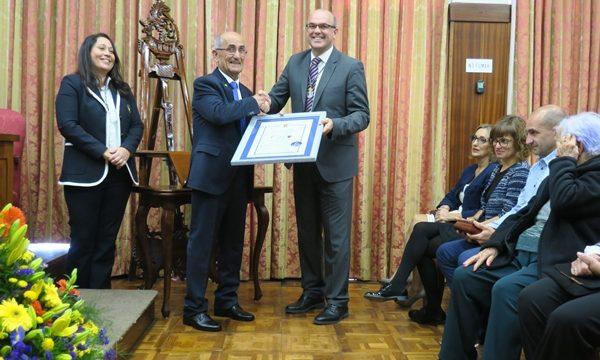Chano recoge la Medalla al Mérito Ciudadano tras 50 años al servicio de la sociedad