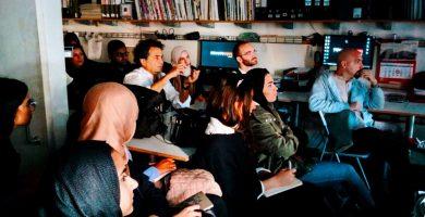 Un grupo de estudiantes de Sharjah llegan a Tenerife para conocer la obra de Menis