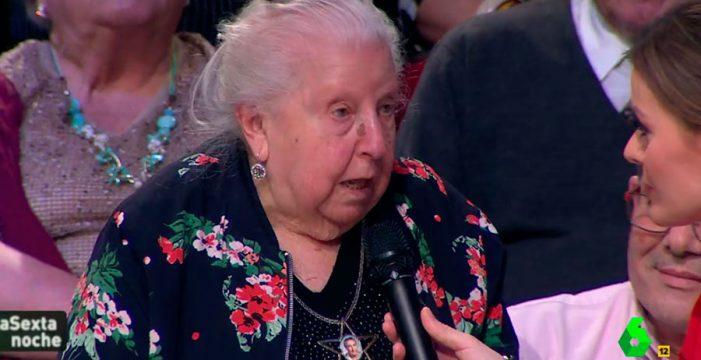 Paquita, la pensionista que revolucionó 'La Sexta Noche' con su discurso