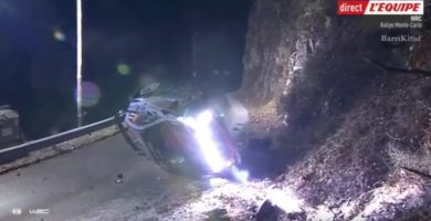 Un espectador español muere en el Rally de Montecarlo