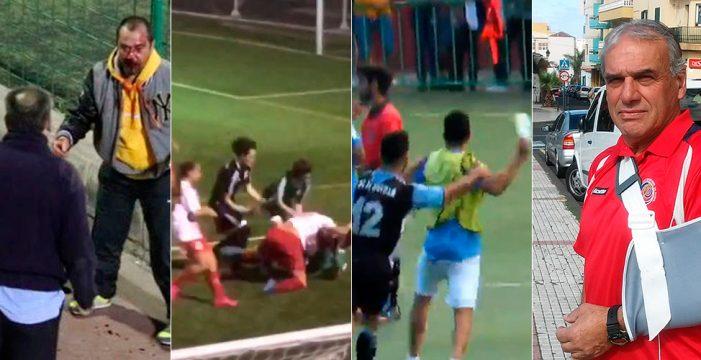 La violencia, una lacra que asola el fútbol canario