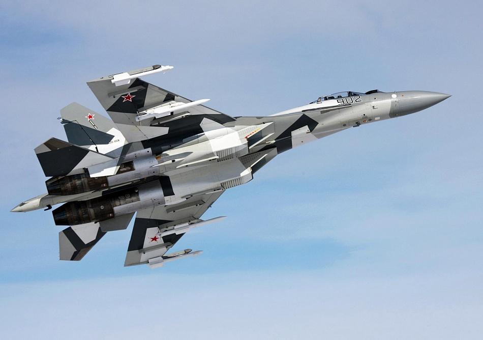 Caza ruso Su-35 | EP