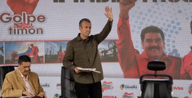 El vicepresidente de Vnezuela Tareck El Aissami | REUTERS/Marco Bello