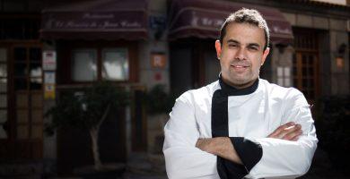 """Juan Carlos Padrón recibe el premio """"Chef del futuro"""""""