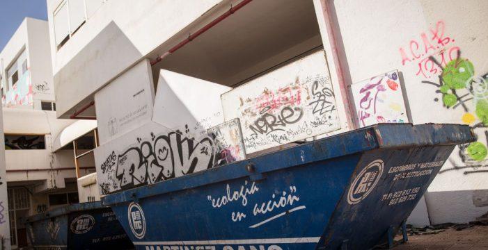 La ULL toma medidas en la vieja Facultad de Bellas Artes