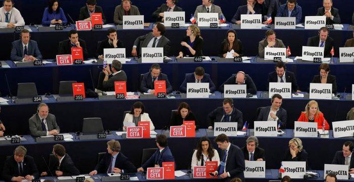 La Eurocámara da luz verde al CETA
