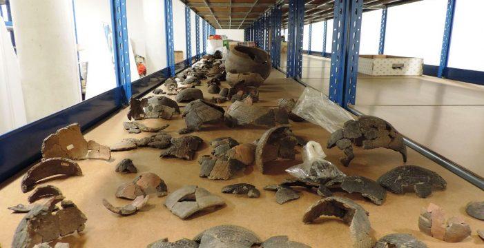 Piezas arqueológicas benahoritas ven la luz por primera vez en La Palma