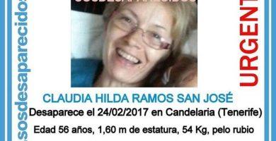 Encuentran a la mujer de 56 años desaparecida en Candelaria