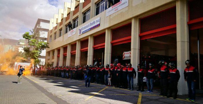 Los bomberos se manifestarán todos los viernes de este mes si no se alcanza un acuerdo