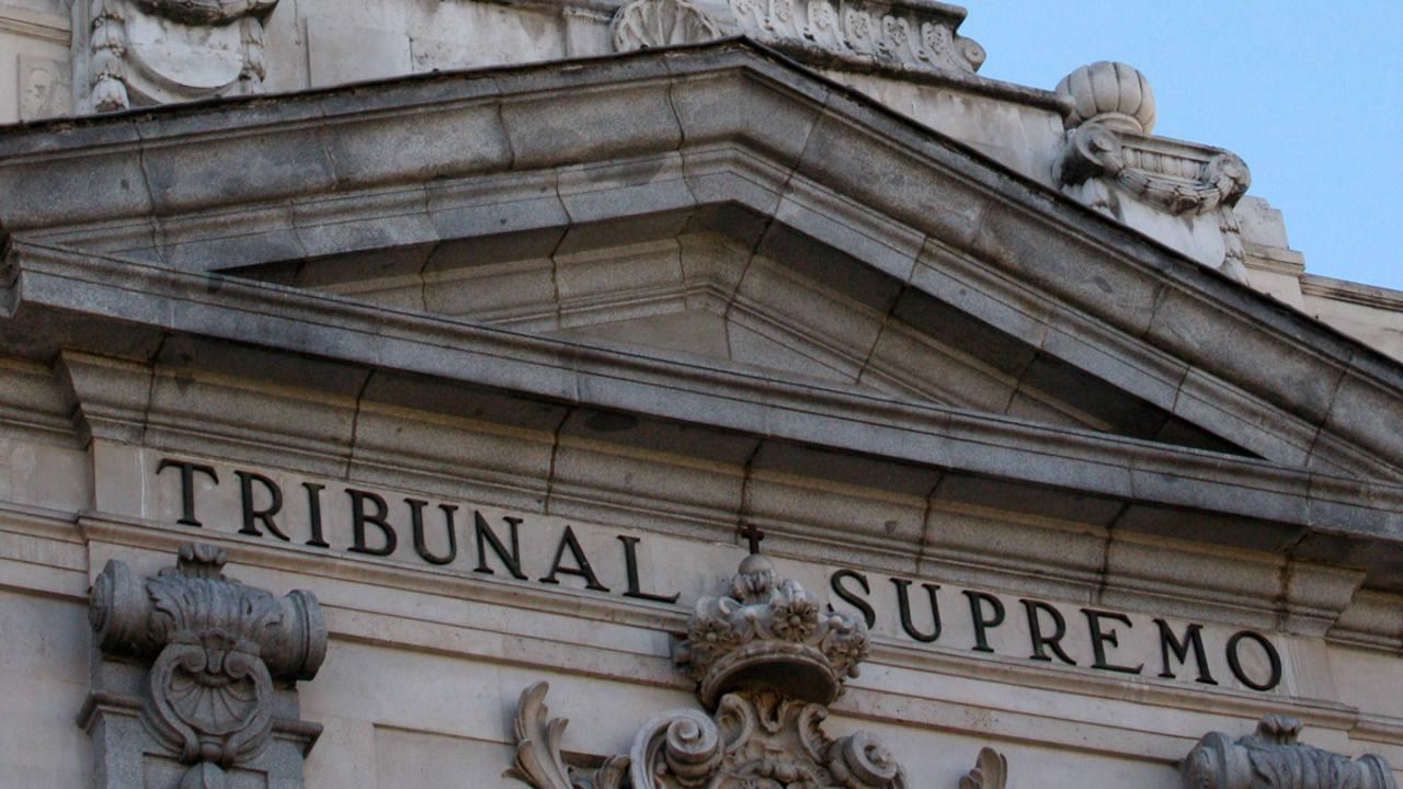 Fachada del Tribunal Supremo | EUROPA PRESS