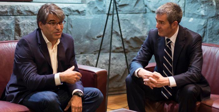 Recepción oficial a la nueva directiva de la Federación Canaria