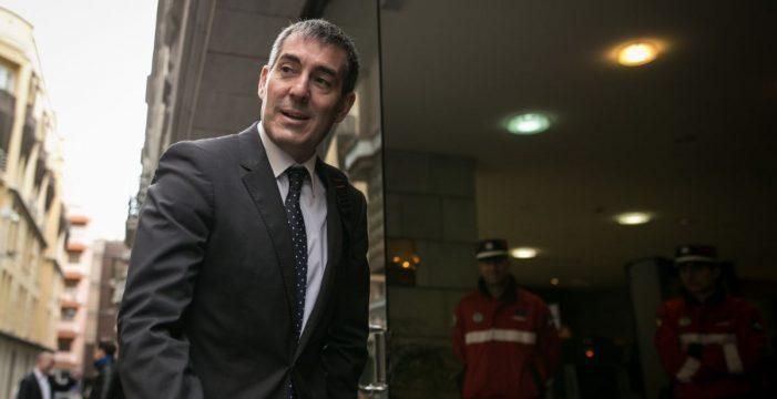 La Fiscalía del TSJC ya estudia la posible imputación de Clavijo