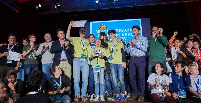 'Aldeatron Robotix' y 'Curiosity I', ganadores de la First Lego League Canarias 2017