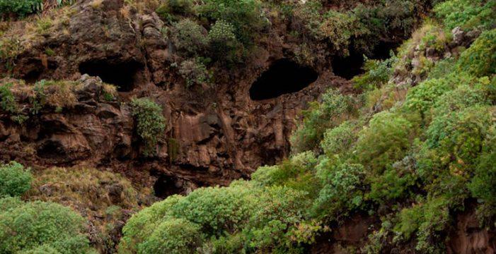 La cueva de Bencomo empieza a limpiarse 30 años después de ser declarada BIC